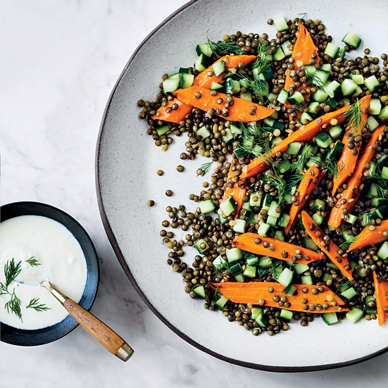 Warm Lentil and Carrot Salad | Food & Wine Recipe