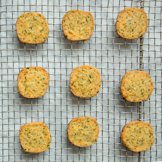 Cheddar-and-Green Chile Shortbread