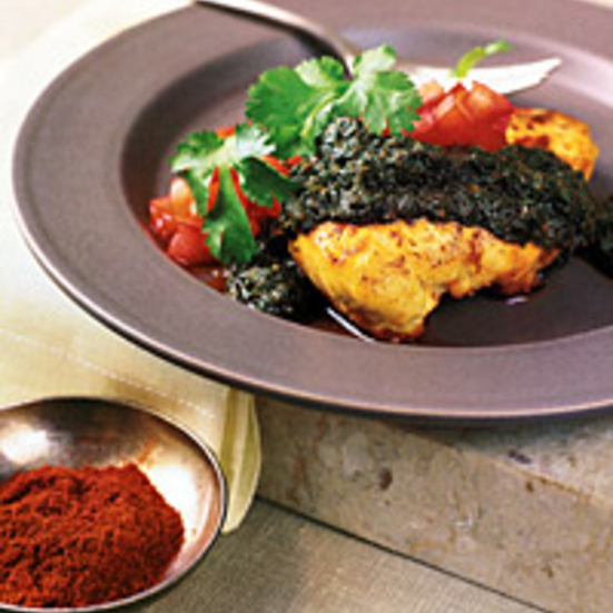 Chicken Breasts with Charmoula