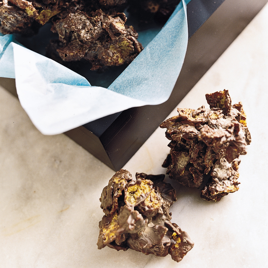 Chocolate Cornflake Clusters Recipe - Jacques Torres | Food & Wine
