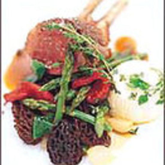 Rack of Lamb with Roasted Tomato Jus
