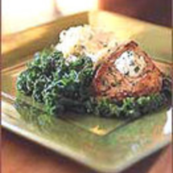 Pork Chops with Mustard and Sour Cream Sauce