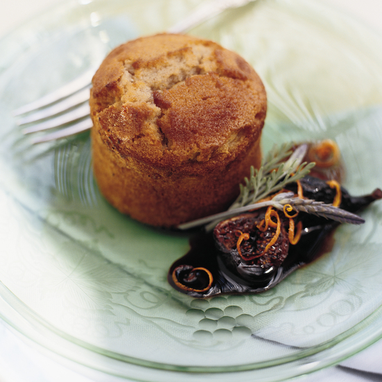 Cinnamon Financiers with Figs