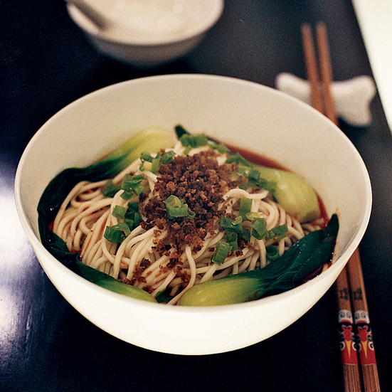 Dan Dan Noodles with Pickled Mustard Greens
