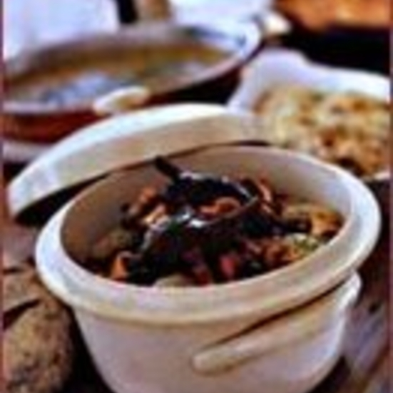 Duck Stew in Red Wine
