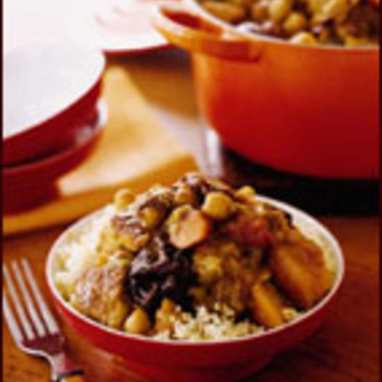 Spiced Turkey Tagine with Prunes