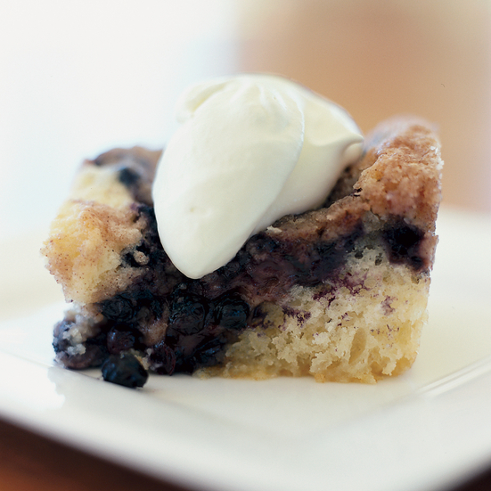 Mama's Blueberry Buckle