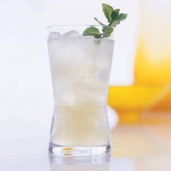 Ginger-Mint Lemonade
