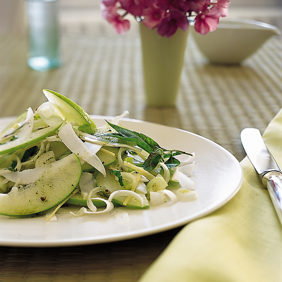 Ginger, Green Apple, Sweet Onion and Coconut Salad Recipe ...
