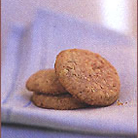 Ginger-Almond Cookies