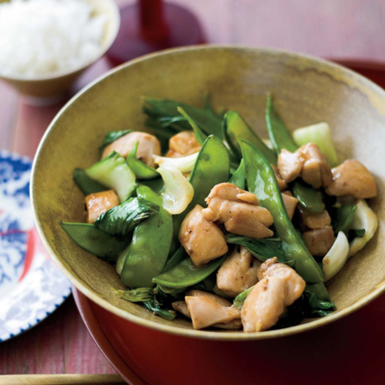 Stir-Fried Chicken with Bok Choy Recipe - Grace Parisi ...