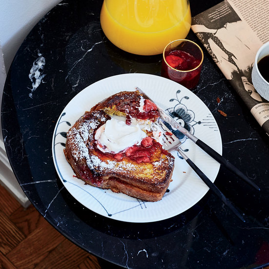 Jam-Stuffed Brioche French Toast