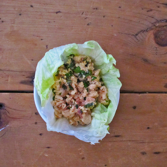 Minced Chicken Salad (Laab)