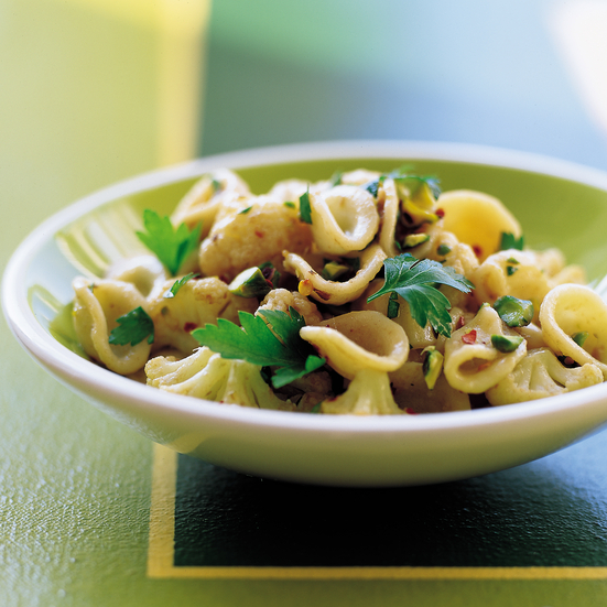 Orecchiette with Cauliflower, Anchovies and Pistachios Recipe ...