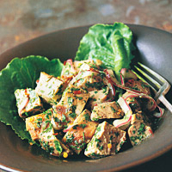 Pork with Mustard Lime Vinaigrette