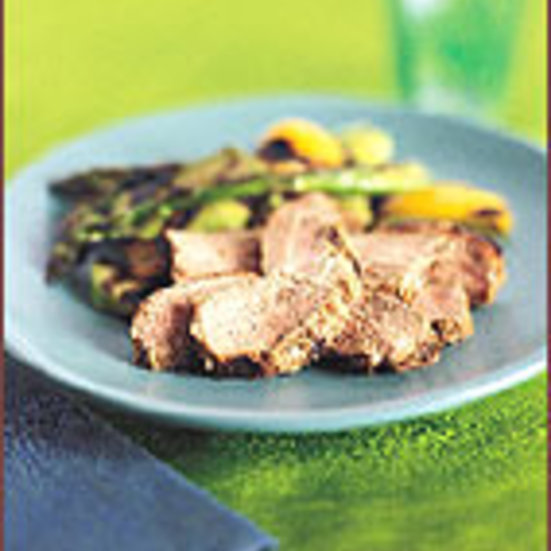 Grilled Pork Tenderloins with Jamaican Spices