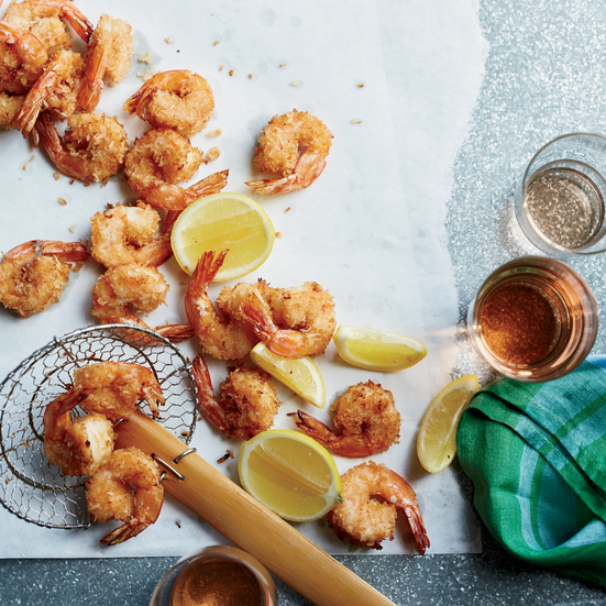 Spicy Coconut Shrimp Recipe - Sasha Martin | Food & Wine