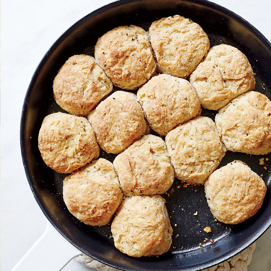 Pull-Apart Salt-and-Pepper Biscuits