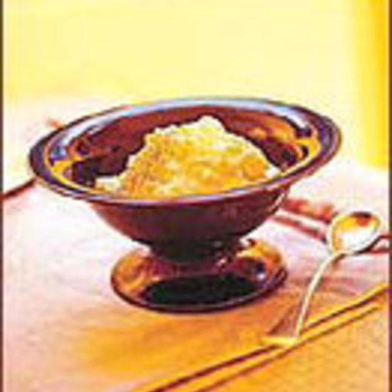 Lemony Rice Pudding