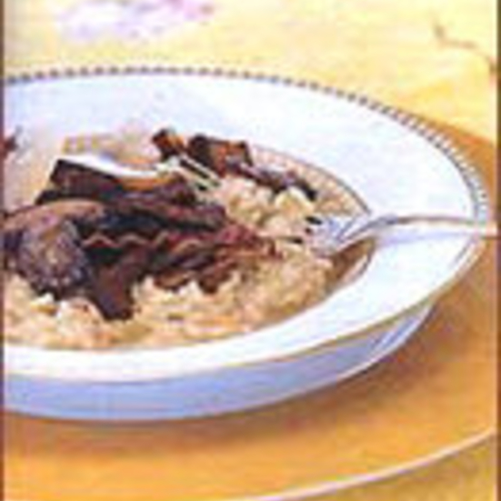 Risotto with Pancetta and Wild Mushrooms