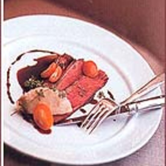 Roasted Duck with Licorice-Merlot Sauce