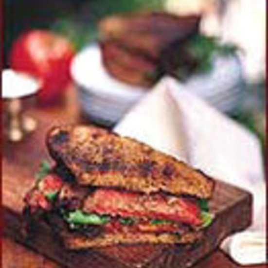Steak, Tomato and Arugula Sandwiches