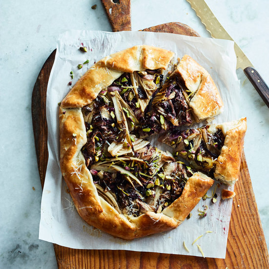 Savory Galette with 