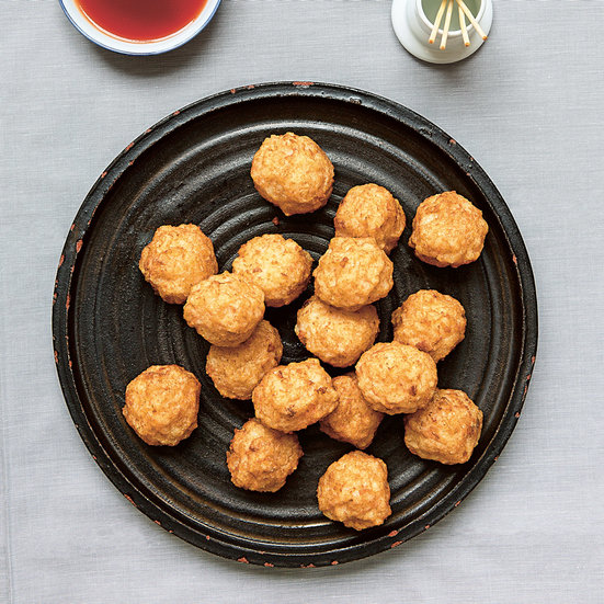 Deep-Fried Shrimp Balls