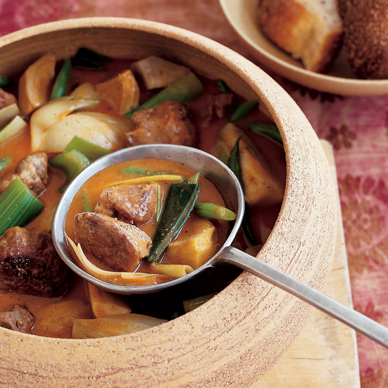 Smoky Beef and Leek Stew