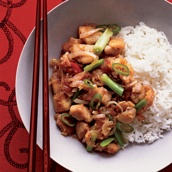 Spicy Lemongrass-Ginger Chicken
