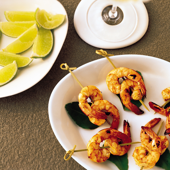 Spicy Margarita Shrimp