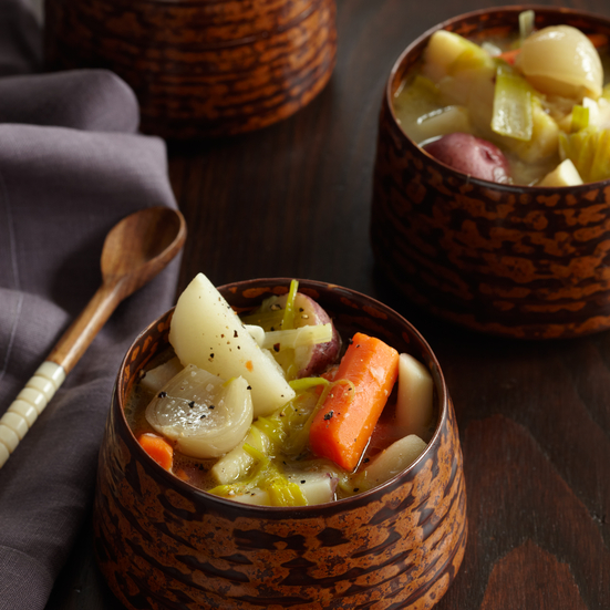 Stewed Winter Vegetables