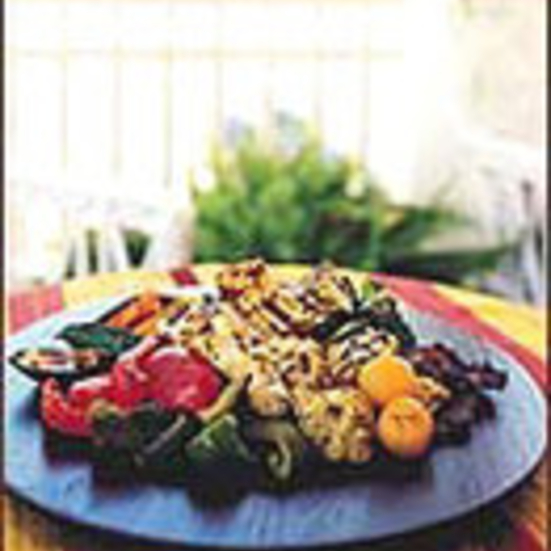 Indian-Style Grilled Vegetables with Paneer