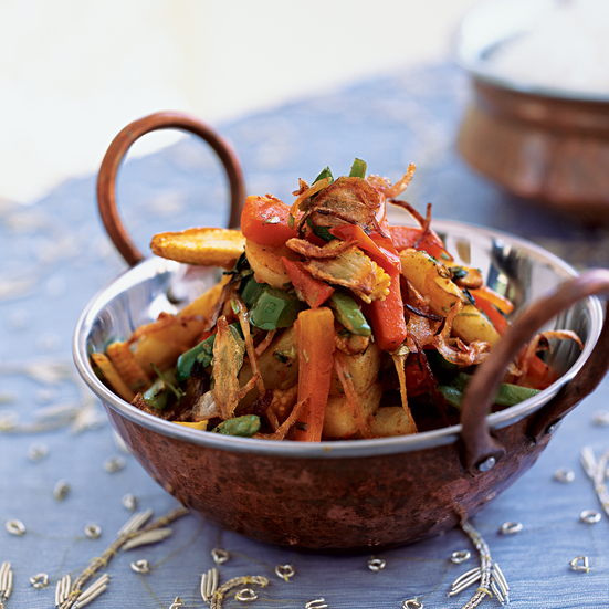 Winter Vegetable Jalfrezi