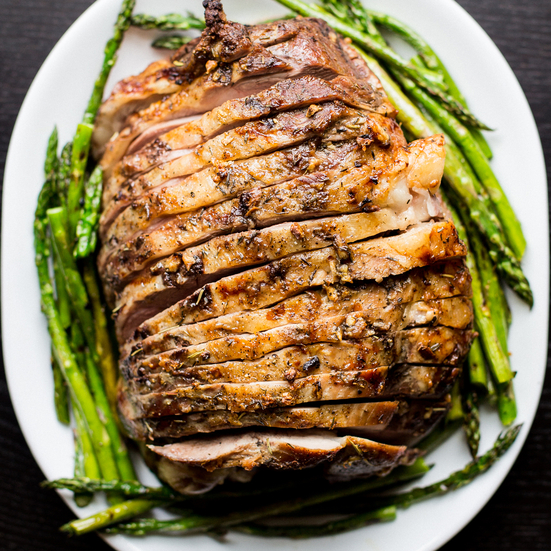 Roasted Leg of Lamb