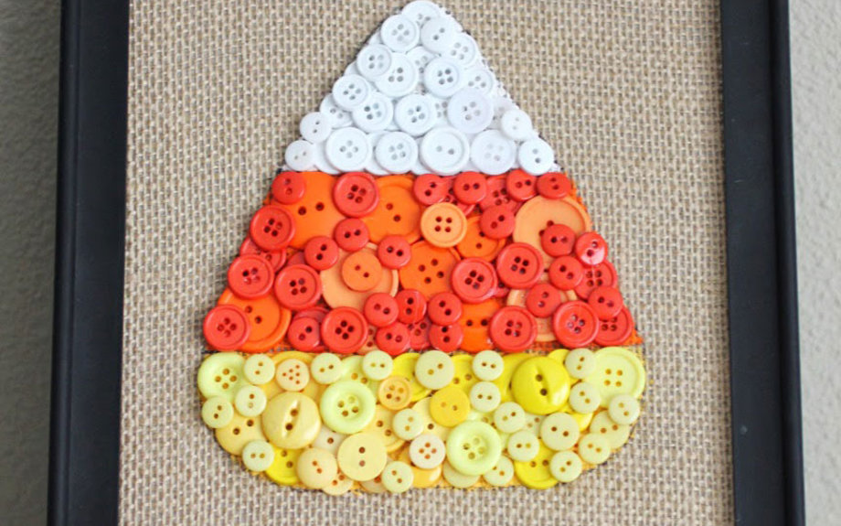 pinterest halloween craft candy corn