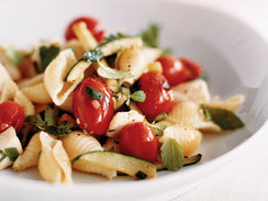 Rachael Ray's Pasta Shells with Swordfish