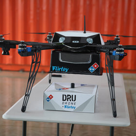 Food & Wine: Domino's Tests Drone Delivery in New Zealand