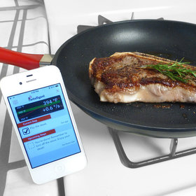 Food & Wine: High-Tech Pan Claims to Practically Cook Your Food for You