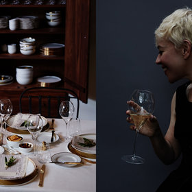 Food & Wine: A Champagne House Party with Catherine Martin and Baz Luhrmann