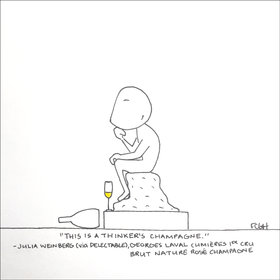 Food & Wine: Wine Cartoons: 3 Top Champagnes for New Year's Eve
