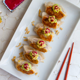 Food & Wine: The Ultimate Vegan Burger Dumpling