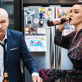 Food & Wine: Patrick Stewart and Sunny Ozell Eat Cheetos in Provence and Chicken Wings at Pok Pok