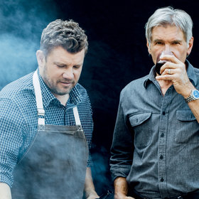 Food & Wine: Harrison Ford's Father's Day Grill-Off