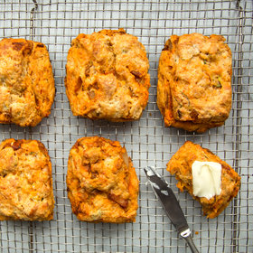 Food & Wine: How to Make Kimchi-Cheddar Biscuits