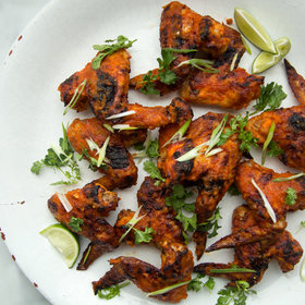 Food & Wine: How to Make Kimchi-Glazed Chicken Wings