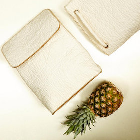 Food & Wine: Vegan Leather Made Out of Pineapples Could Take the Fashion World by Storm
