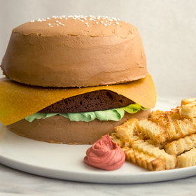 Food & Wine: This Hamburger Cake is The Perfect Memorial Day Dessert