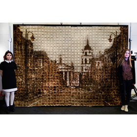 Food & Wine: This Massive 'Painting' Is Actually Made Entirely of Bread