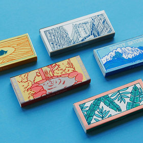 Food & Wine: These Gorgeous Matchboxes Spotlight New York City